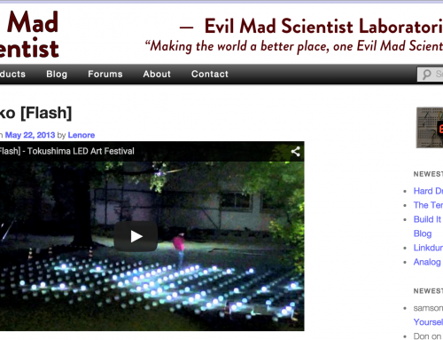 閃光 – Evil Mad Scientist Blog