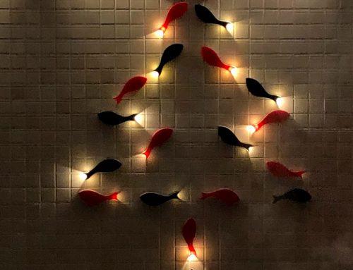 オーストリア大使館クリスマスイベントの展示