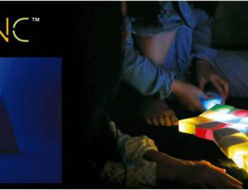 「SXSW 2018 Trade Show」にて、光のドミノ「SHAKE SYNC™」を博報堂ブースで展示